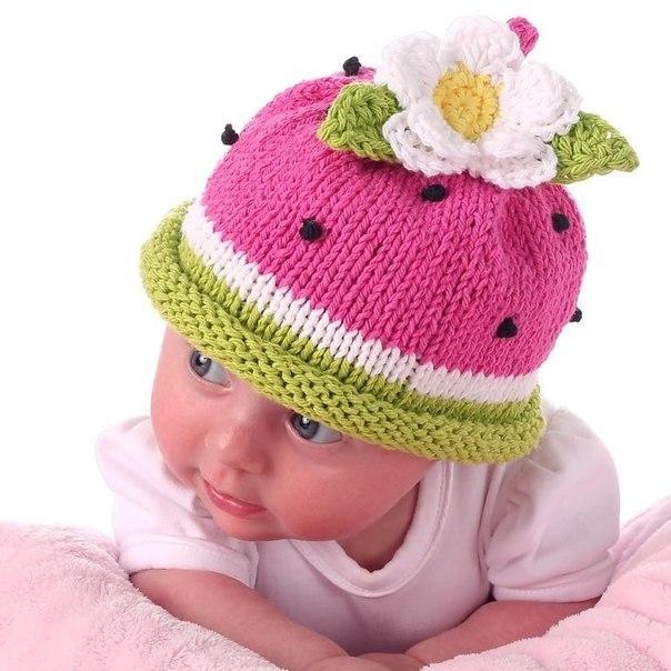 Вязание шапочке для детей